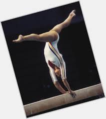 gymnaste poutre